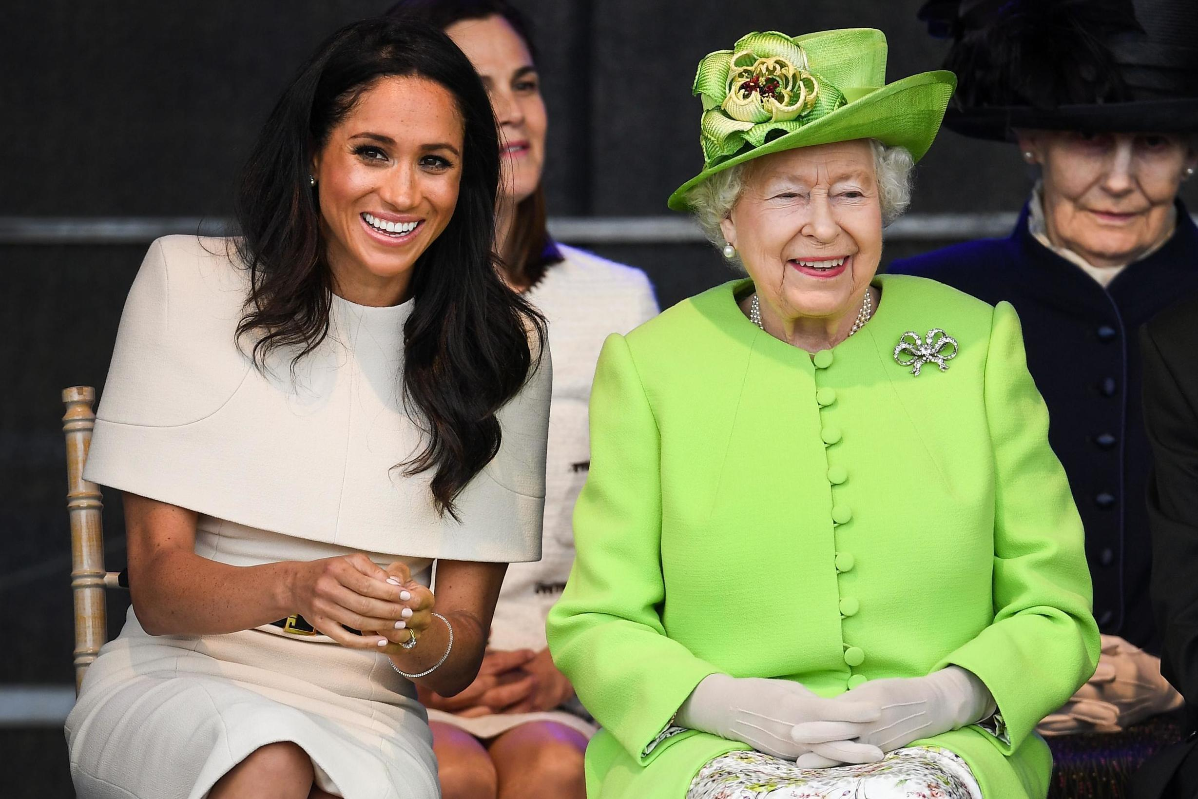 Why the Queen will get to see Meghan Markle's wedding dress before anyone else Why the Queen will get to see Meghan Markle's wedding dress before anyone else new photo