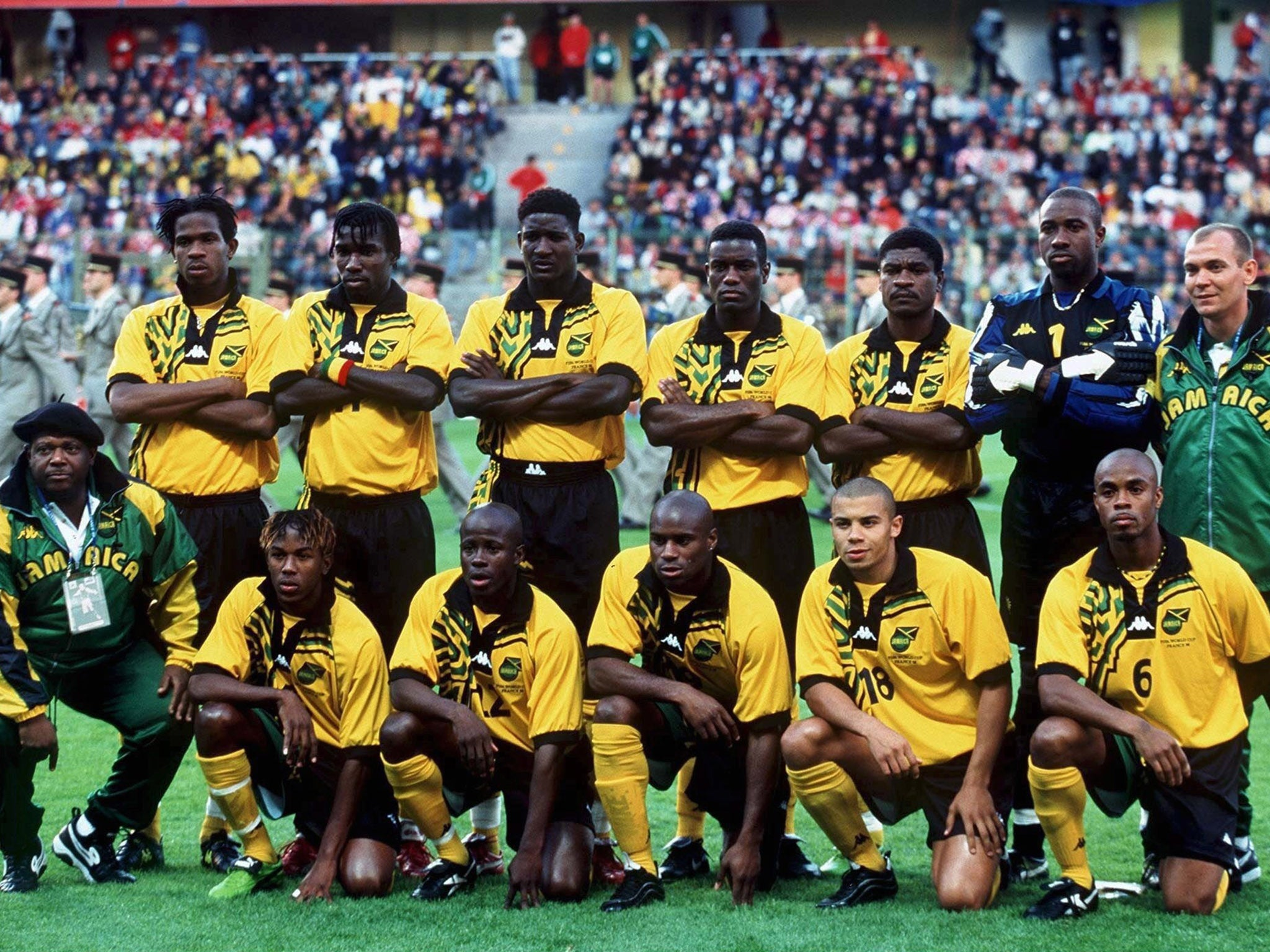 the best attitude f0c3c 433b2 World Cup 2018: How history-making Jamaica became more than ...