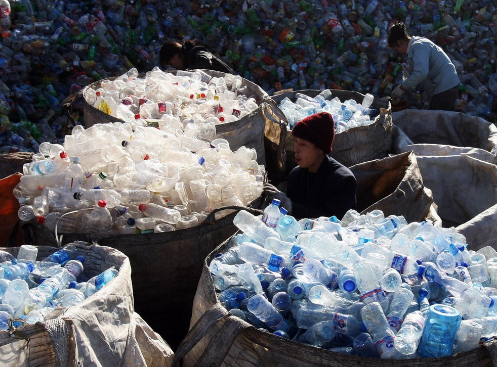 Until recently China has taken the bulk of the UK's plastic waste, but it has now imposed restrictions on imports of  'foreign garbage'
