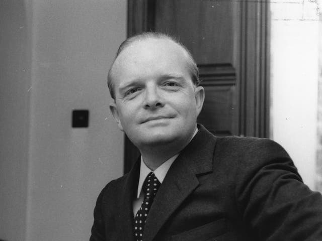 The American author Truman Capote, who is considered one of the most influential figures in true crime writing