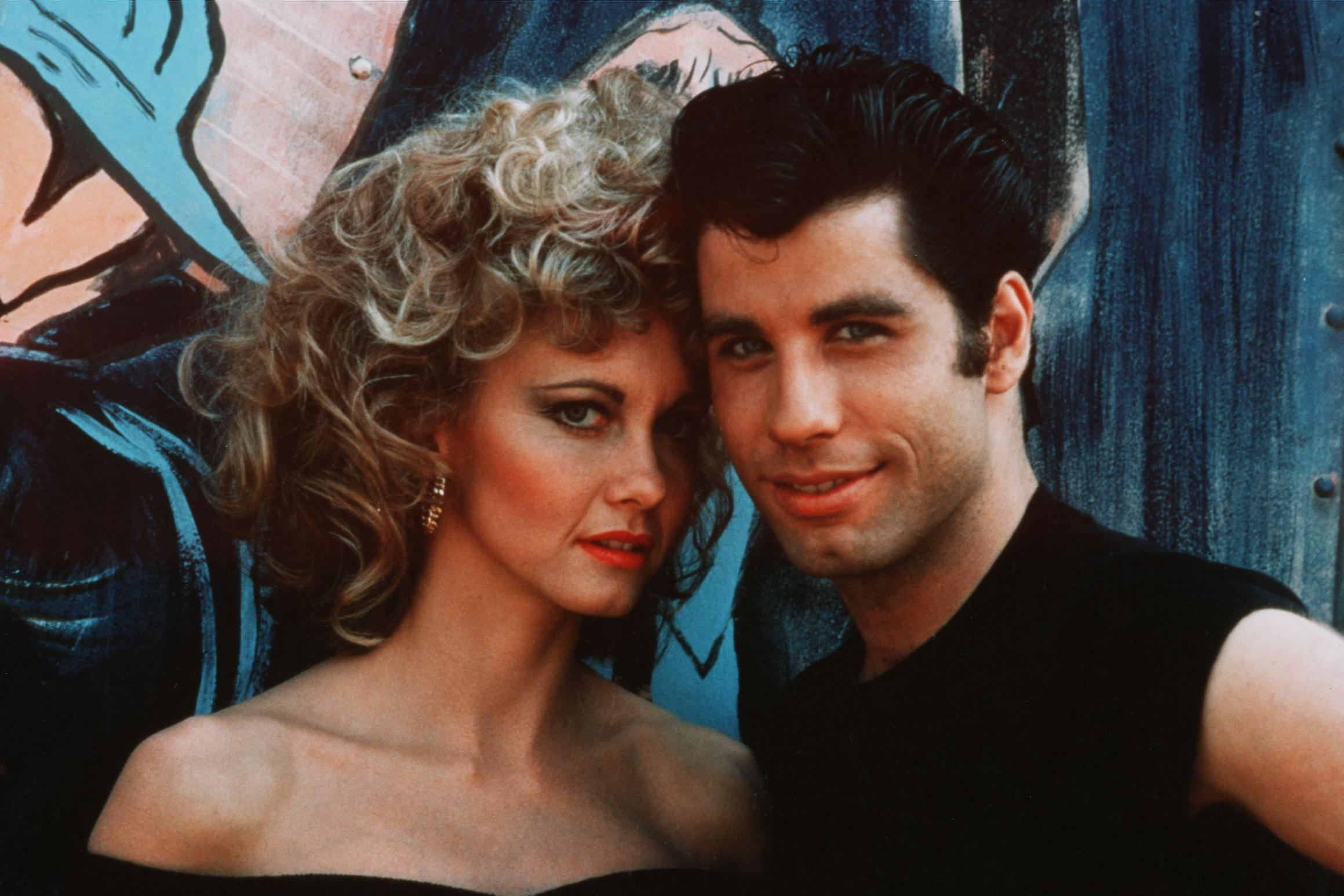 Olivia Newton-John and John Travolta recreate iconic Grease looks for the first time since 1978