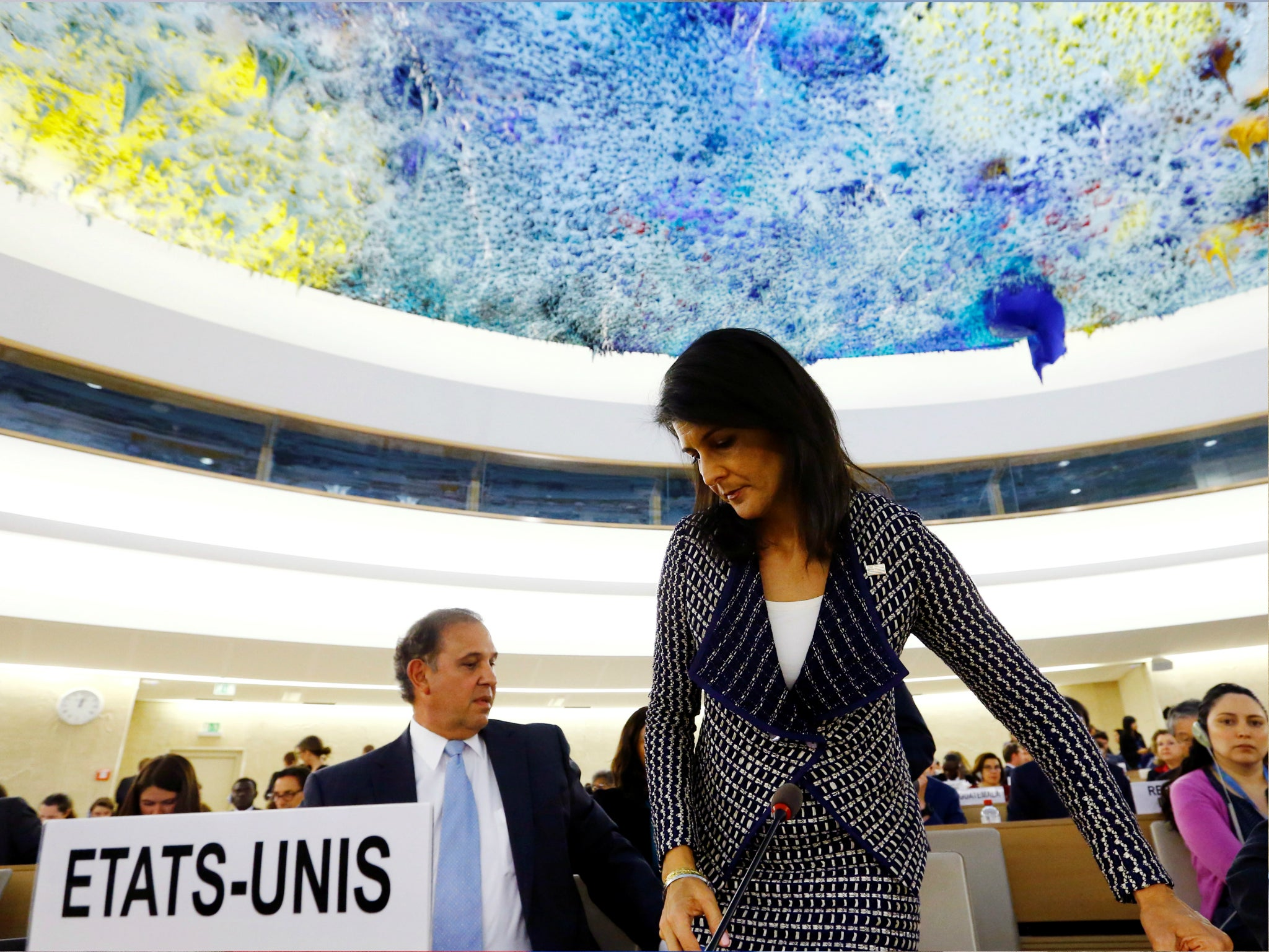 Trump administration will withdraw US from UN human rights council, report says