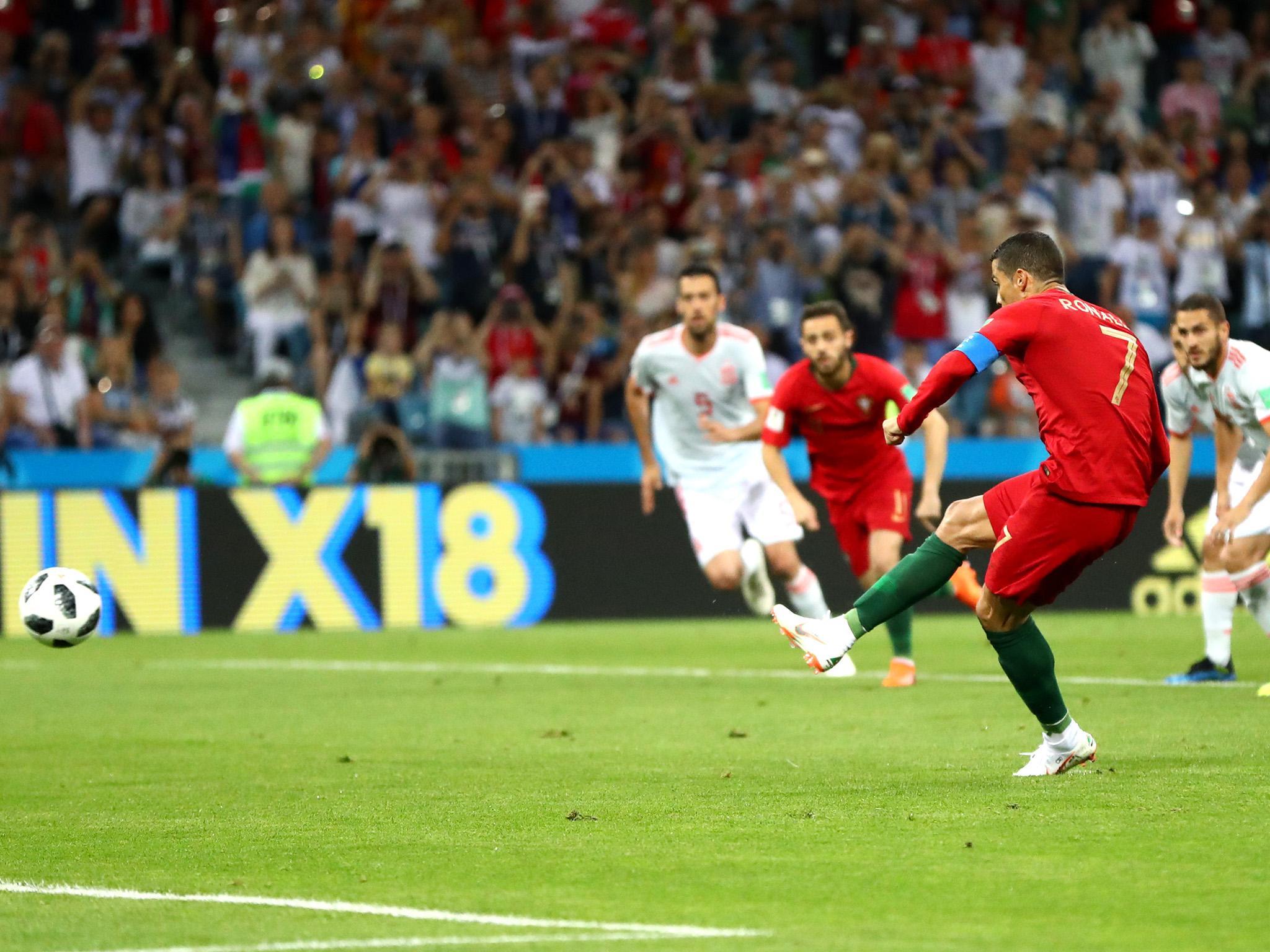 Cristiano Ronaldo Portugal Stars Late Free Kick And Hat Trick Is