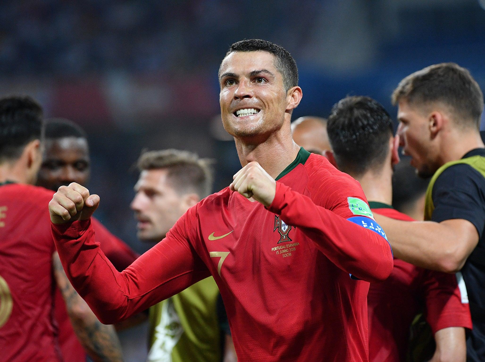 Portugal vs Spain LIVE World Cup 2018: Cristiano Ronaldo
