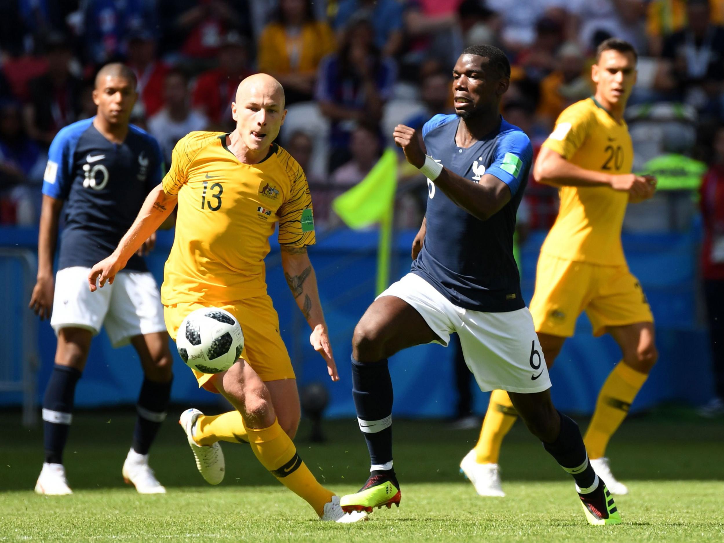 France vs Australia LIVE World Cup 2018: Latest score, goals and