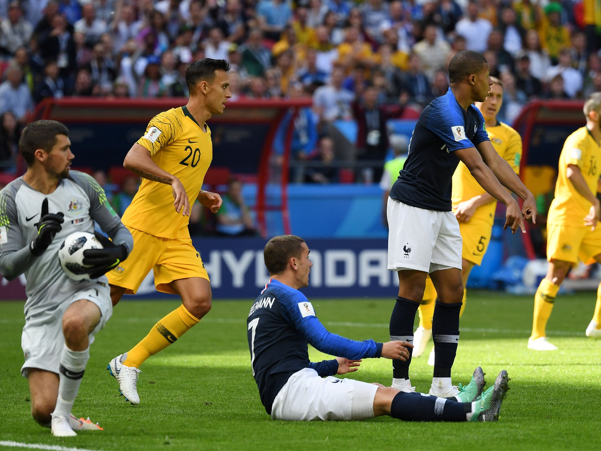 France Australia World Cup