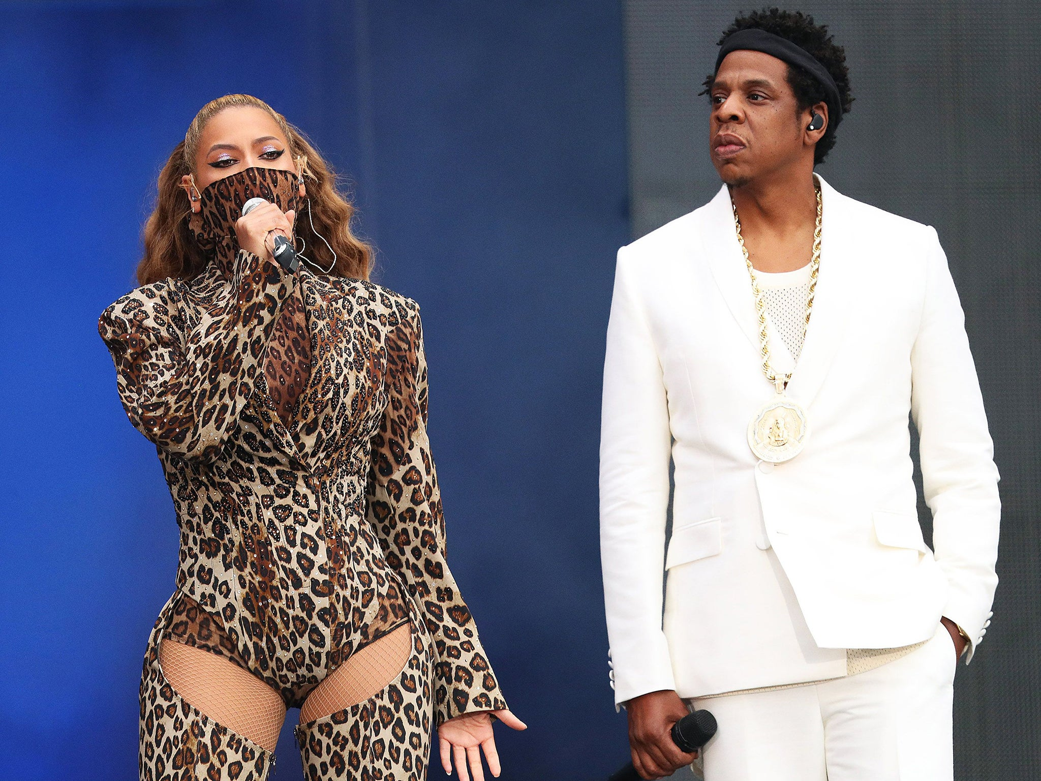Jay Z New Hair Style 2018: Beyonce And Jay Z's On The Run II Tour, London Stadium