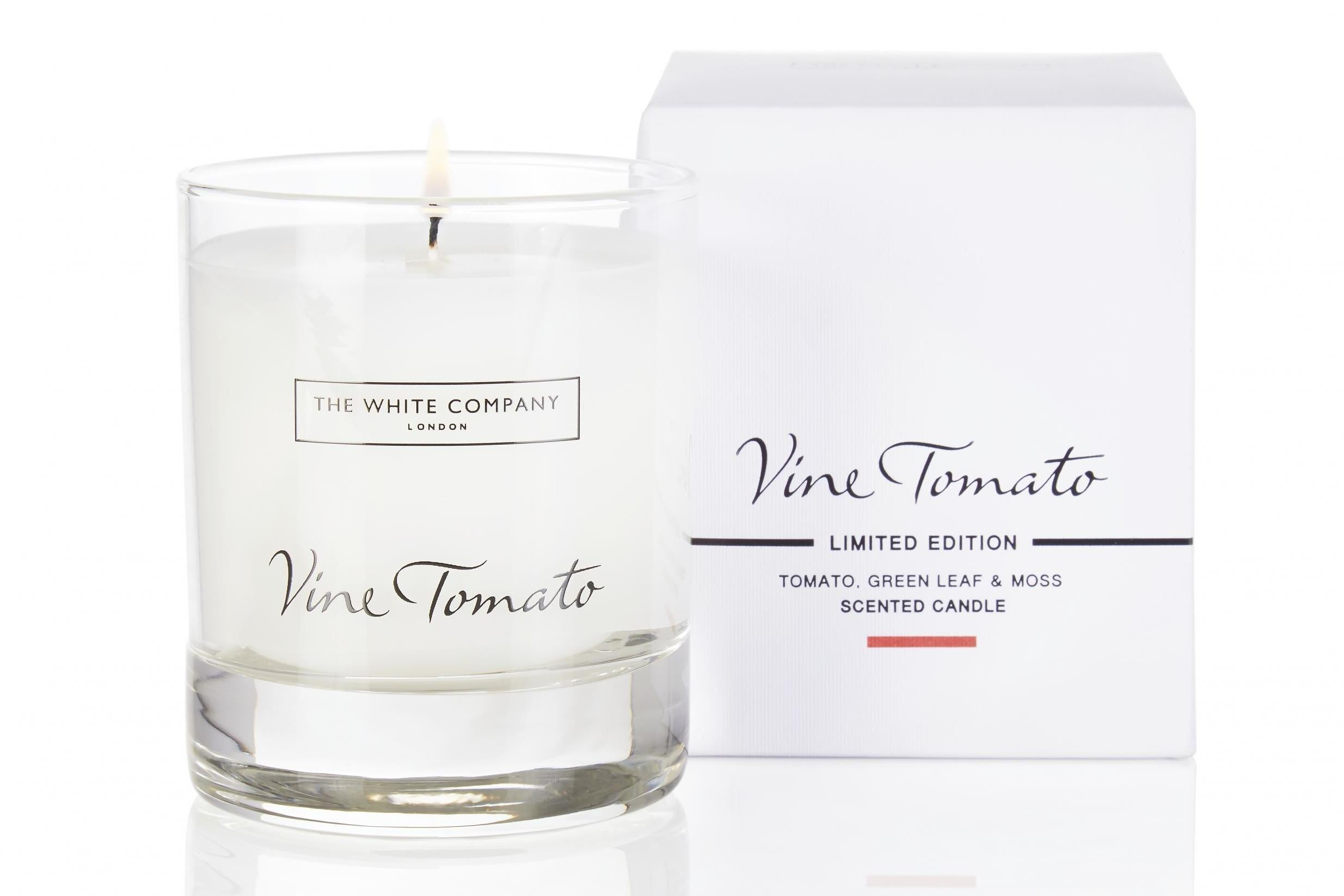 The White Company Vine Tomato Signature Candle 20, The White