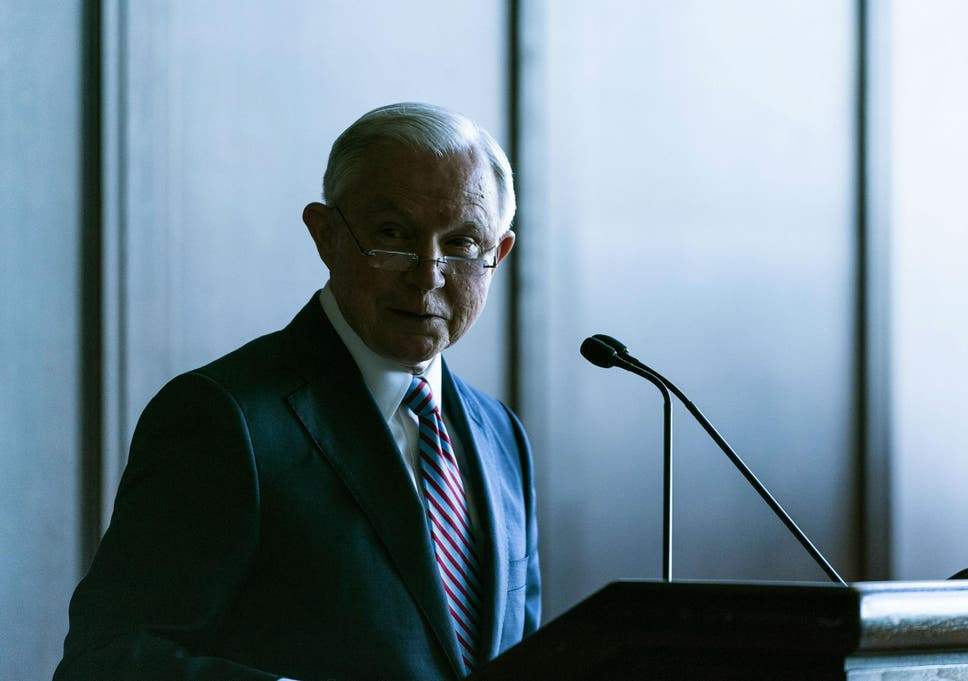 Sessions argued that the current zero-tolerance approach 'protects the lawful'