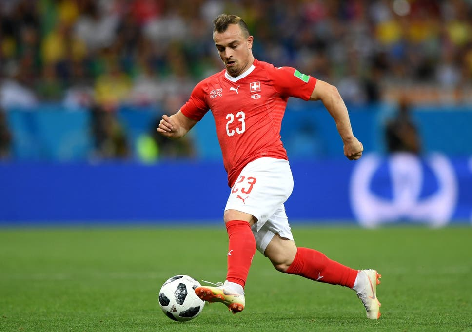028aa560794 World Cup 2018: Xherdan Shaqiri backs Switzerland to be surprise ...