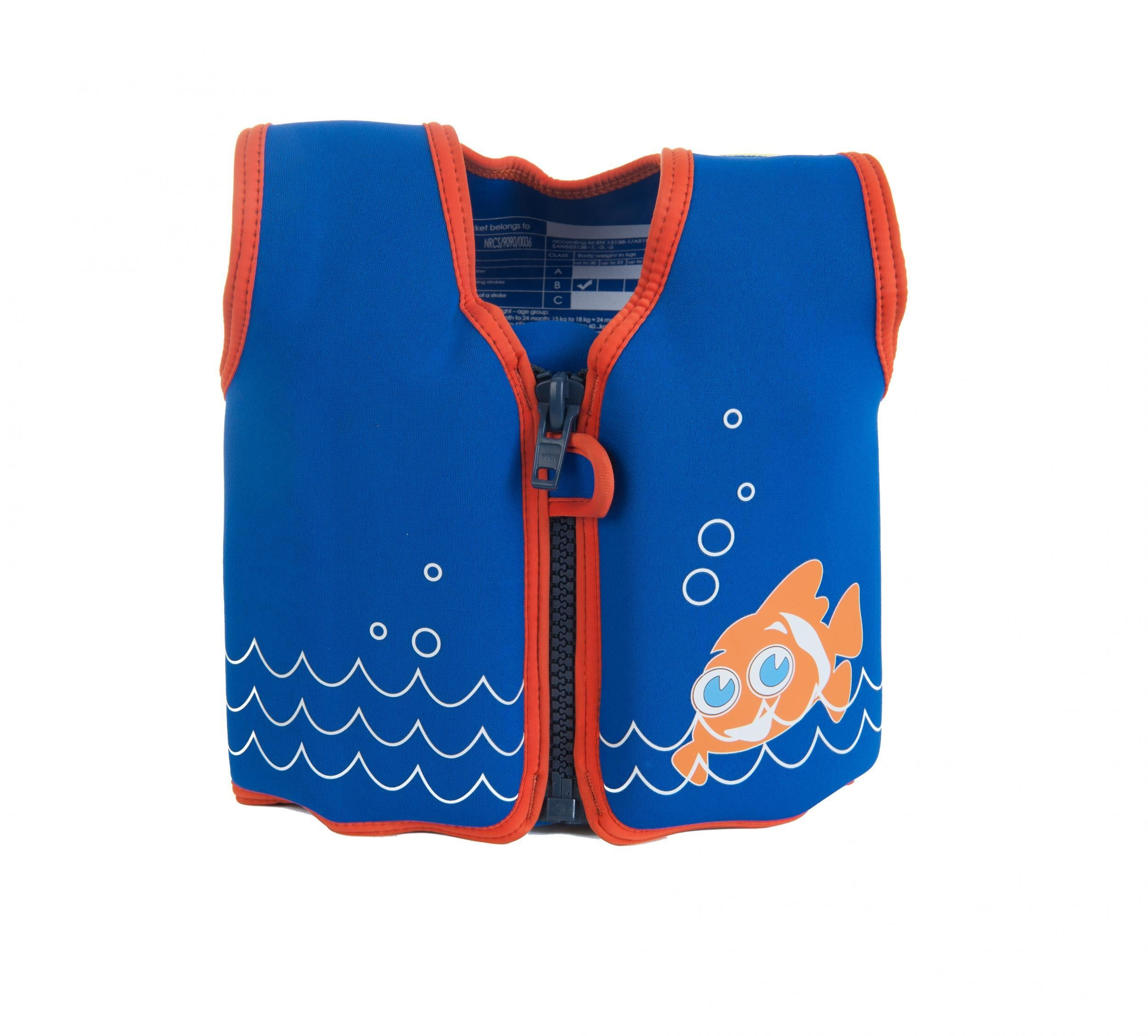 This clever little buoyancy jacket will keep your child afloat without  restricting their movement 6e9b38173816