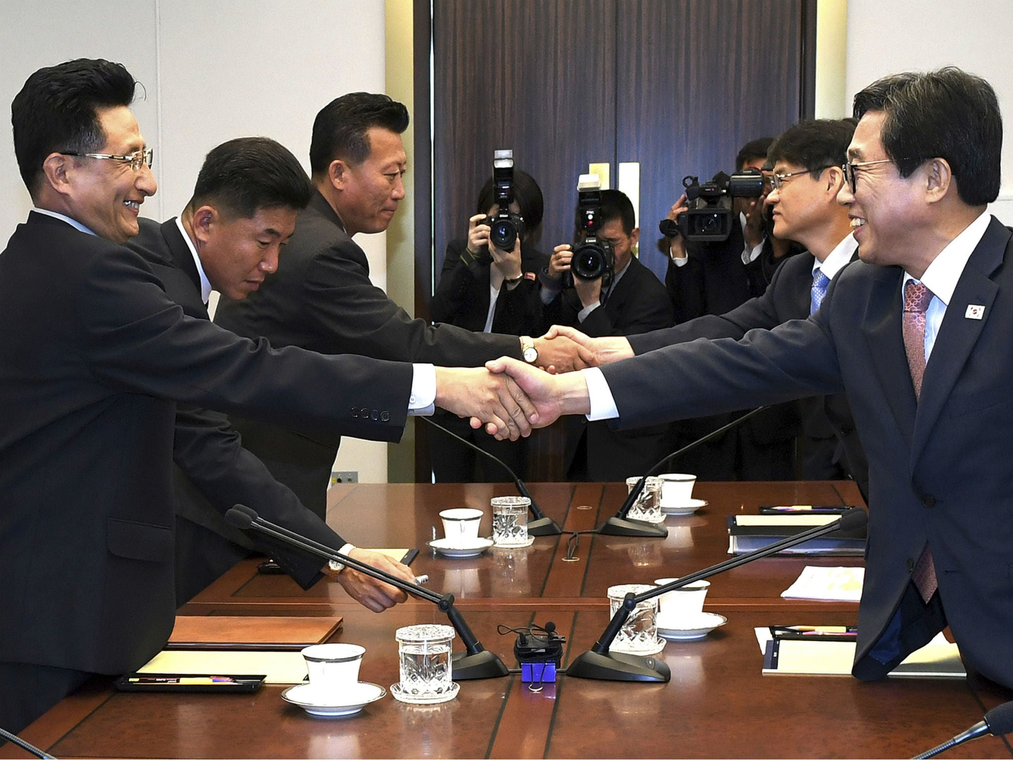 North and South Korea agree to joint teams for Asian Games