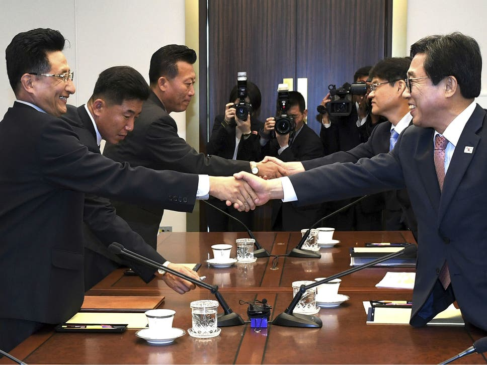 North And South Korea Agree To Joint Teams For Asian Games The