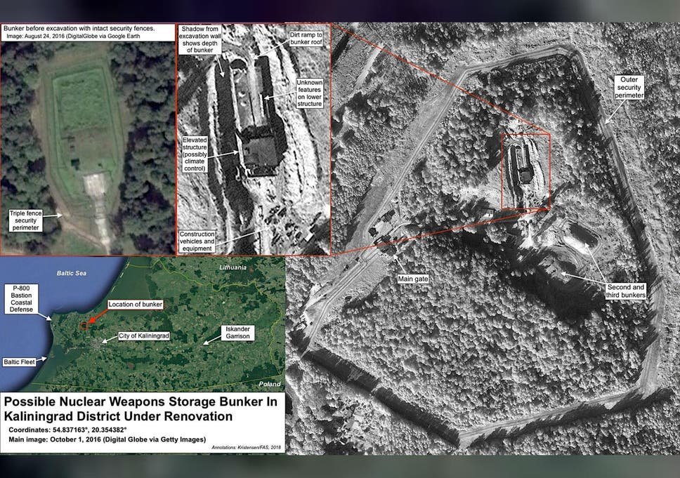 Map Of Uk Nuclear Bunkers.Satellite Images Appear To Show Russia Upgrading Nuclear Weapons