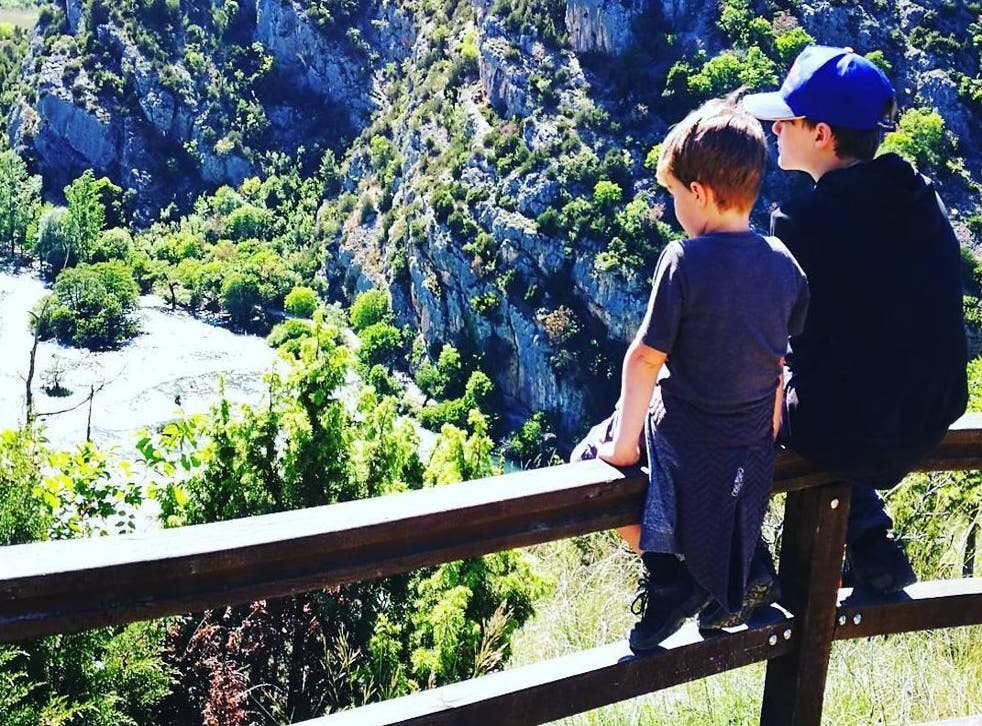 The Dawes family wants everyone to know what to do if a child gets abducted (Instagram)