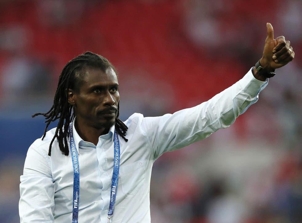 Aliou Cisse captained Senegal at the 2002 World Cup