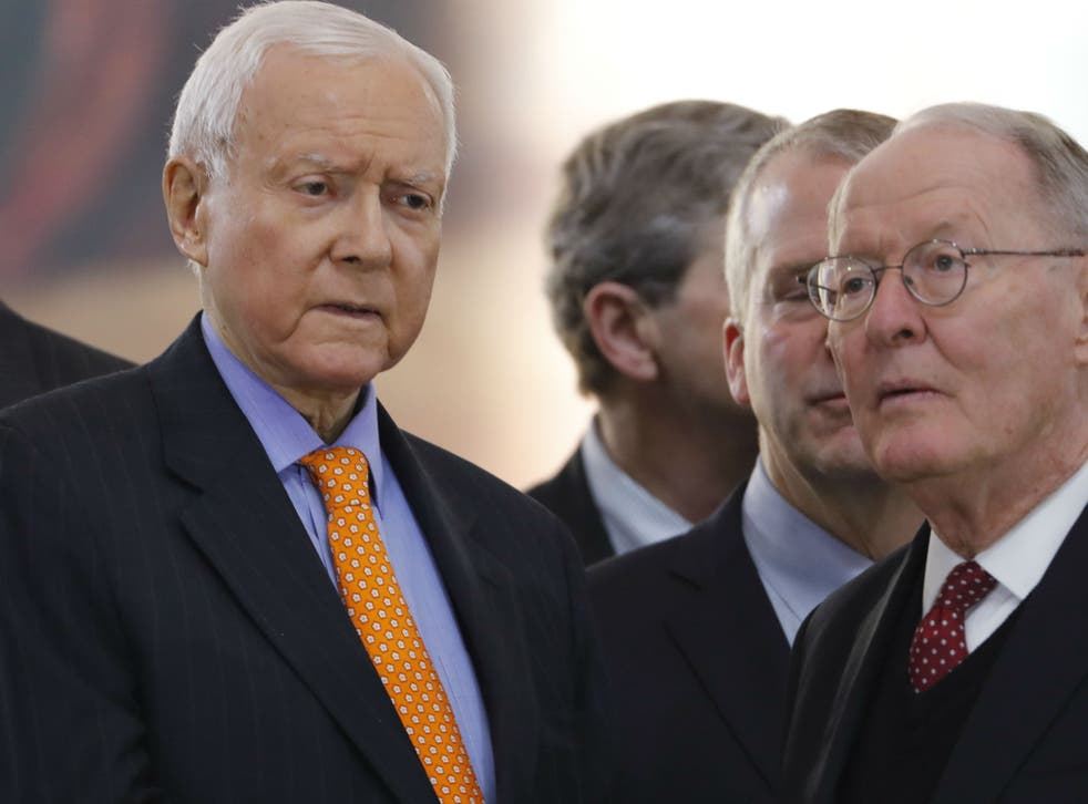 Senators Orrin Hatch and Lamar Alexander have both signed a letter urging Donald Trump to end his 'zero tolerance' policy towards illegal border crossings