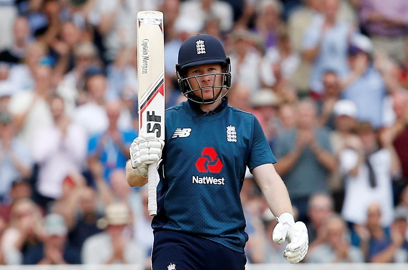 England captain Eoin Morgan rues missed chance to reach 500 despite setting  ODI record against Australia | The Independent | The Independent