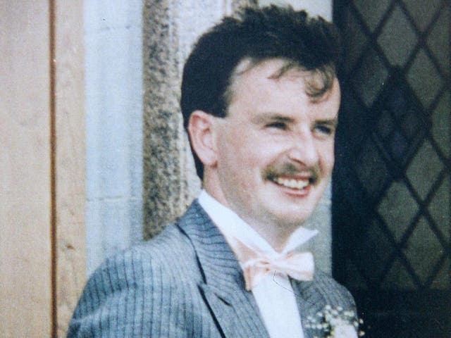 Aidan McAnespie, who was shot dead near a border checkpoint during the Troubles