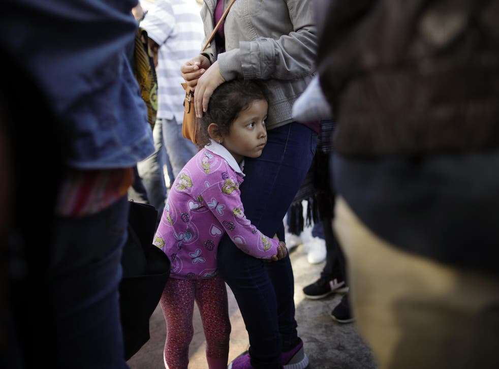 Hundreds of immigrant children were flown thousands of miles from the US's southern border where they were separated from their parents to New York