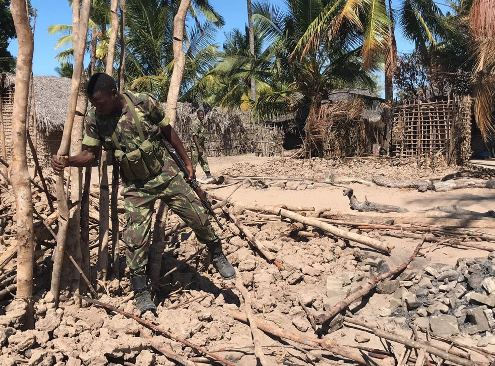 <p>File image: Mozambique's army has admitted it is ill-equipped to tackle the Isis insurgency on its own&nbsp;</p>