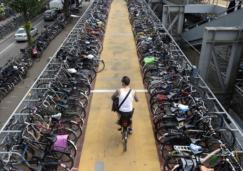 Netherlands pay 16 rupees per kilometre Cycling while going office