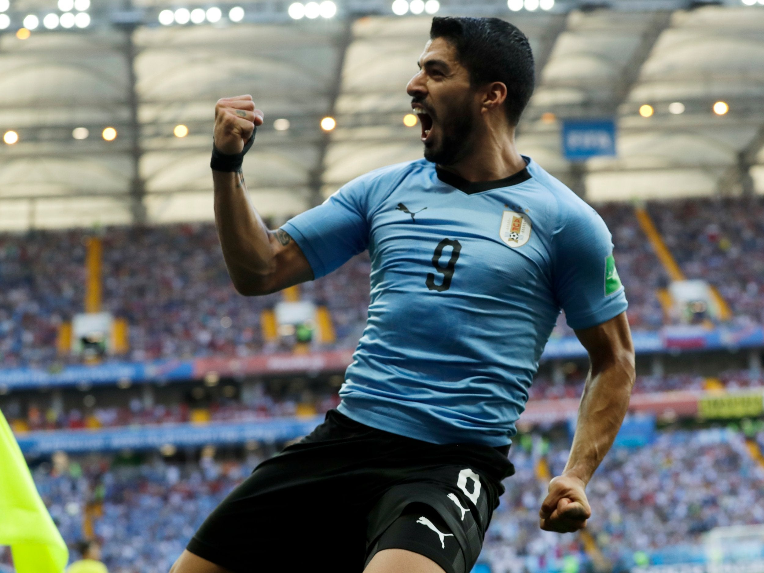 Luis Suarez Goal Enough for Uruguay to Eliminate Saudi Arabia