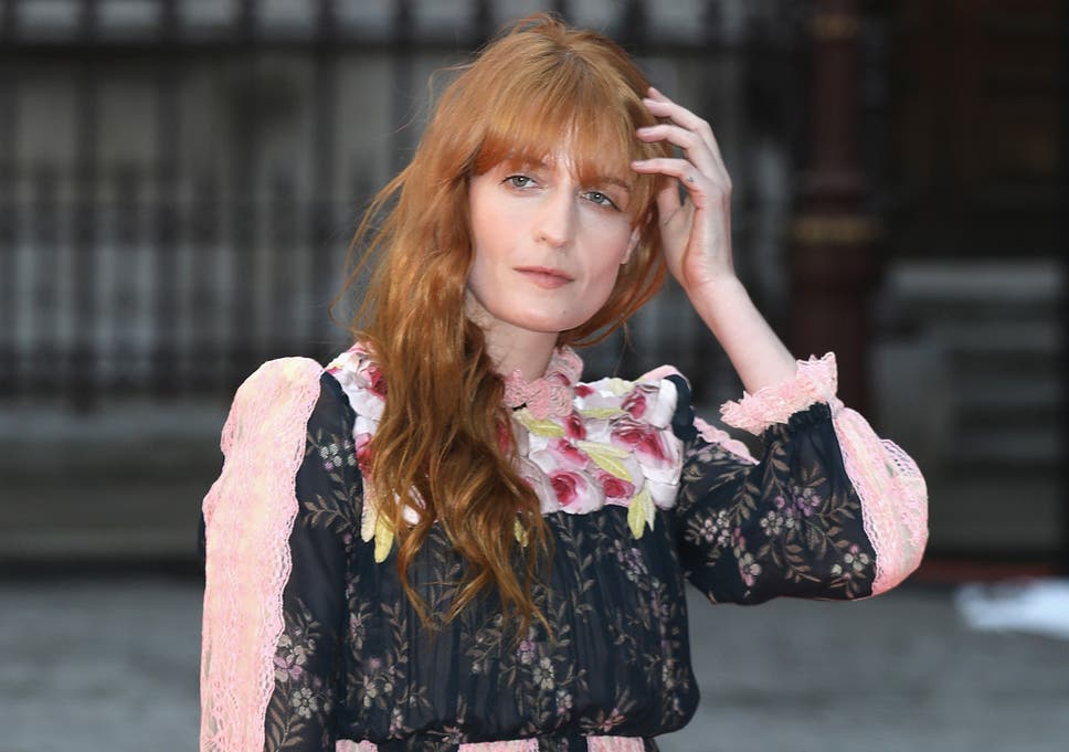 6b5a09b3edd6ab Florence Welch on embracing her femininity   You can still be strong and  scary in a pink nightie