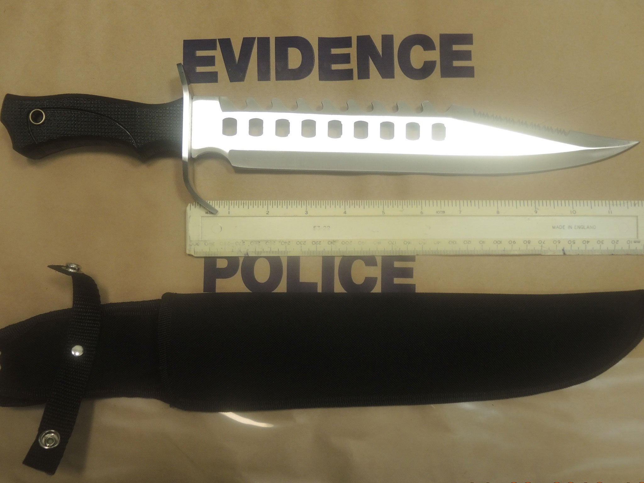 Knife crime offences rise to highest level since 2010 in England and Wales