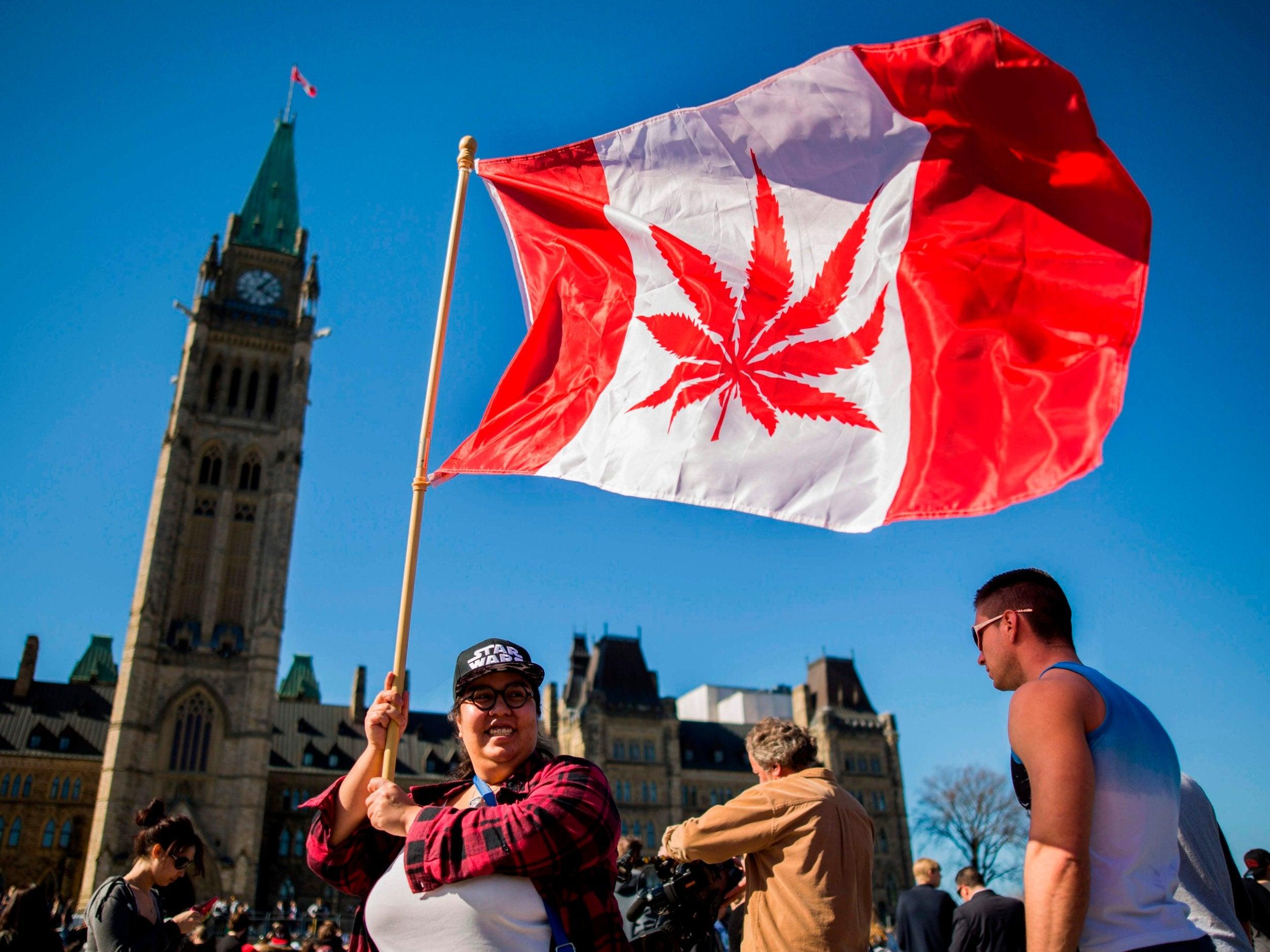 Canada legalises recreational use of cannabis