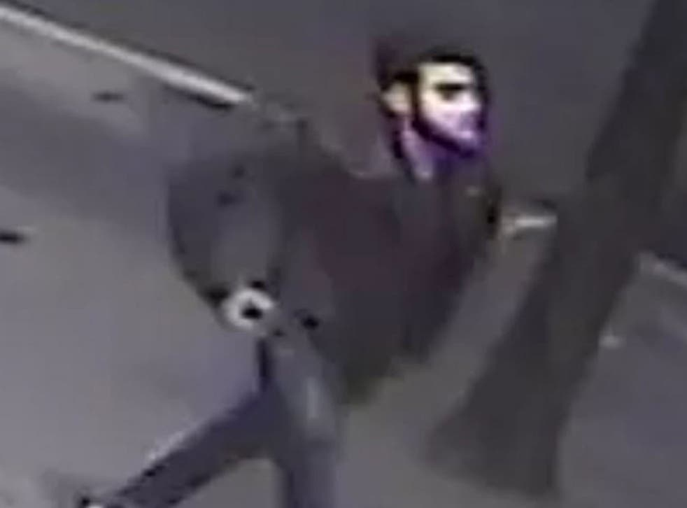 Officers from the Child Abuse and Sexual Offences Command released this CCTV image of a man sought in connection with the attack