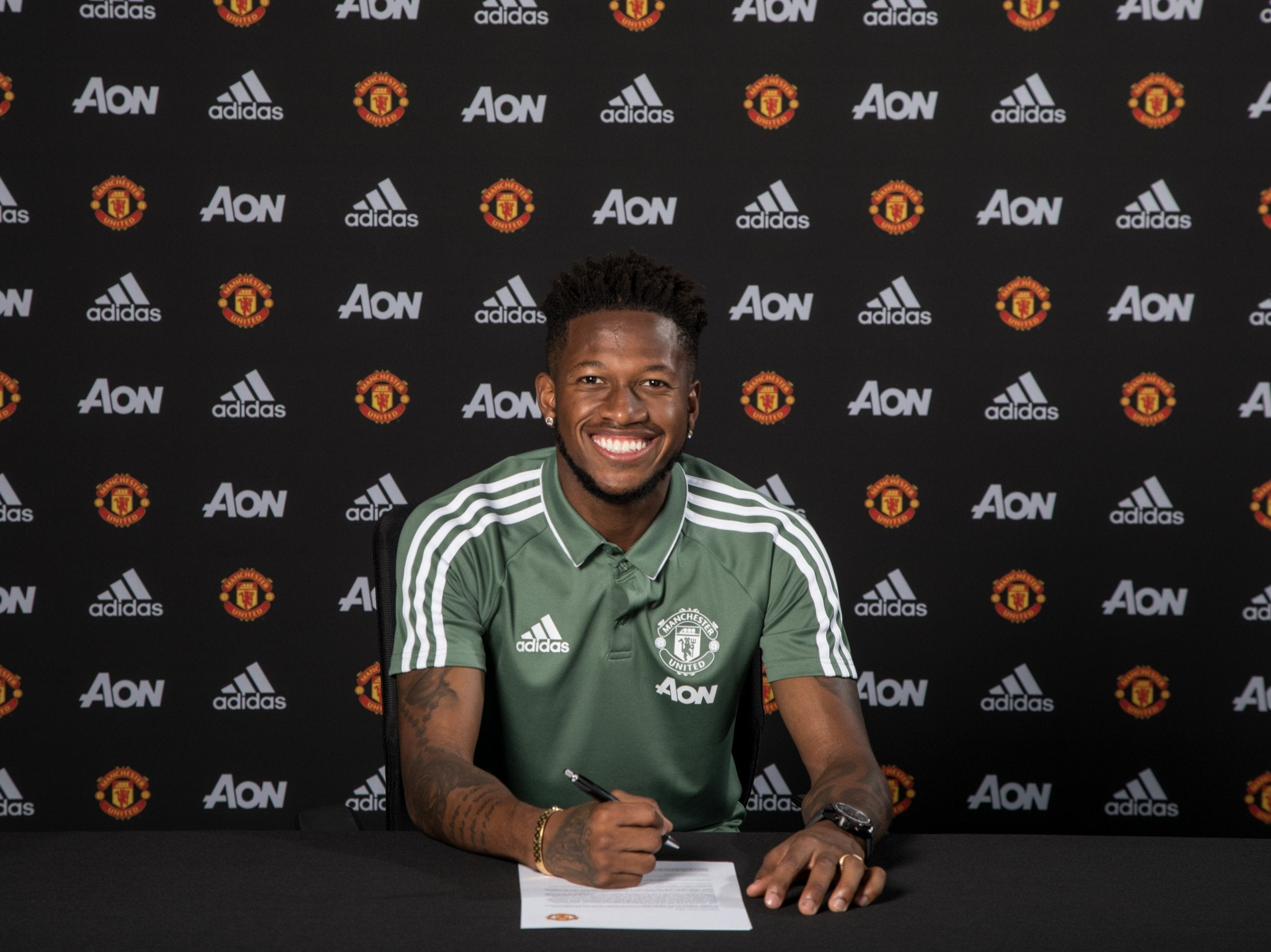 Image result for fred joins man utd