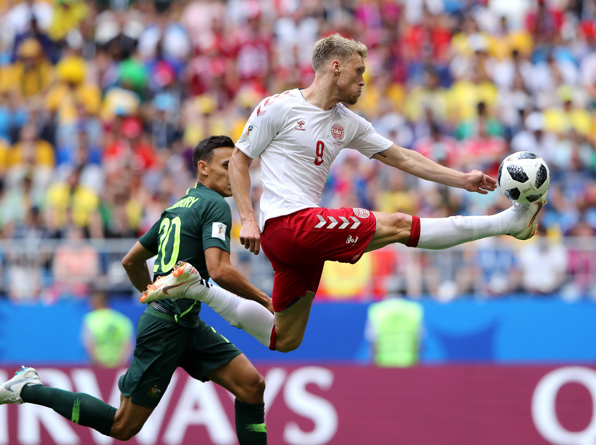 f9ccd8733fdc The anatomy of Christian Eriksen s truly unique World Cup 2018 goal ...