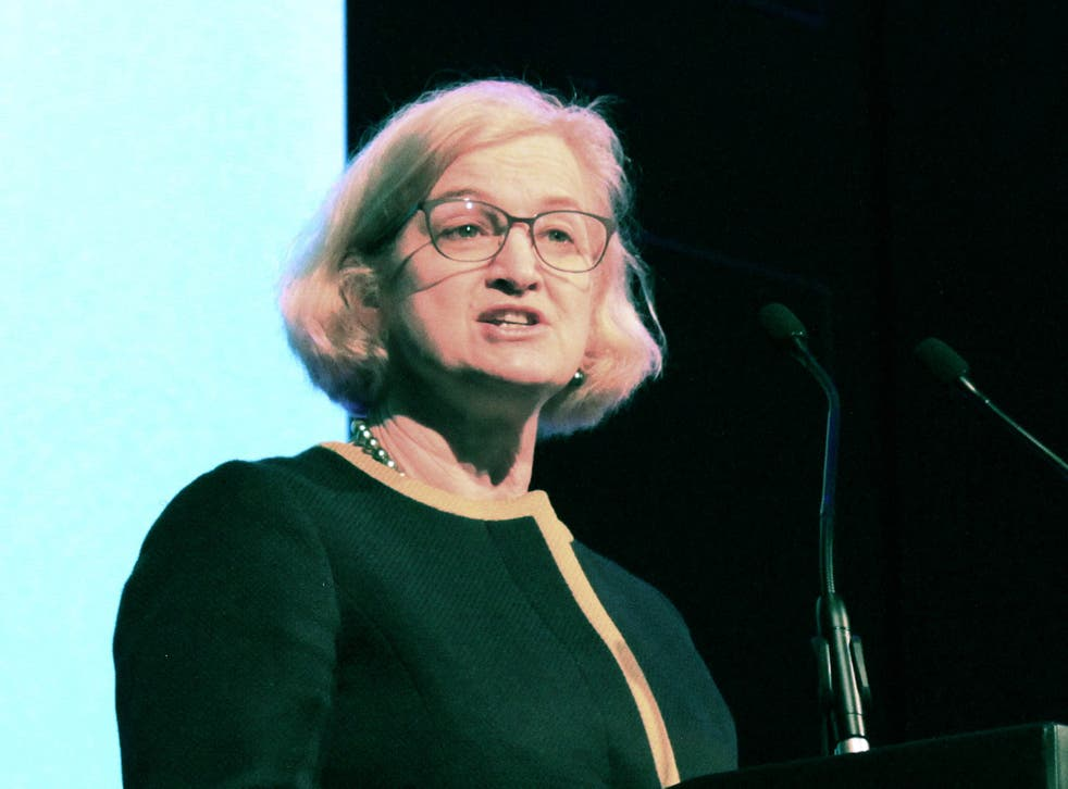 Amanda Spielman announced the reforms to school inspections in Newcastle