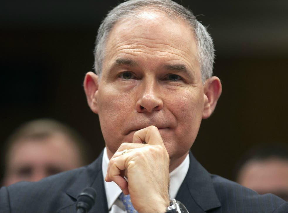 Environmental Protection Agency chief Scott Pruitt spent more than $4m on his security detail.