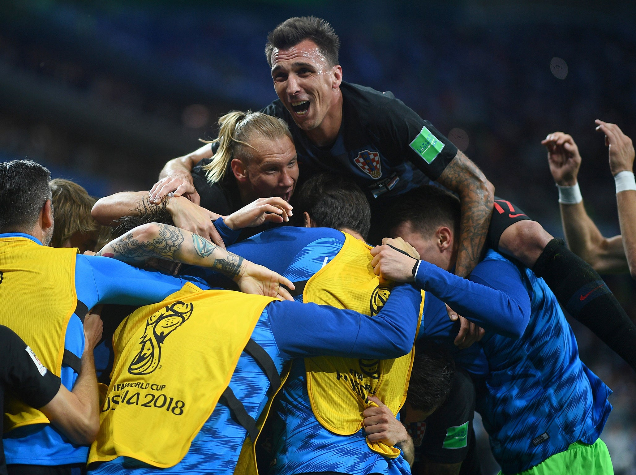 9c267ee39 Croatia s 3-0 victory over Argentina shows why they deserve to be talked  about as World Cup 2018 contenders