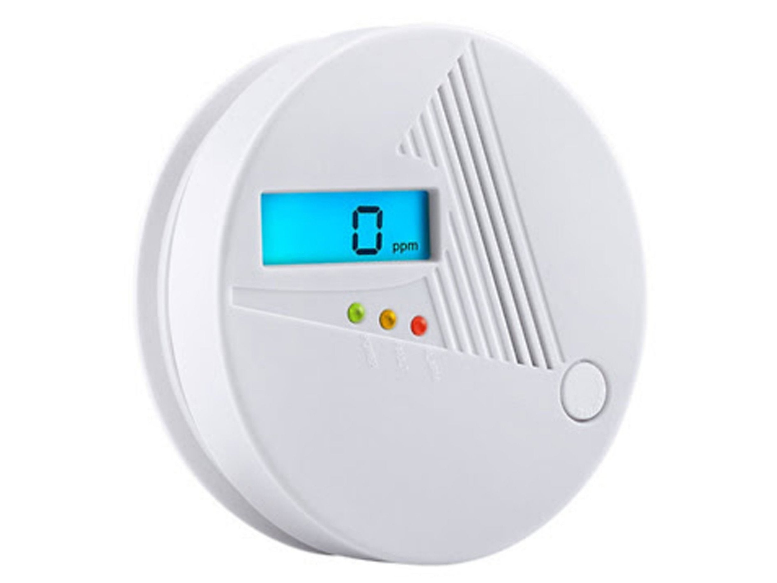 Carbon monoxide alarms, Gas detector