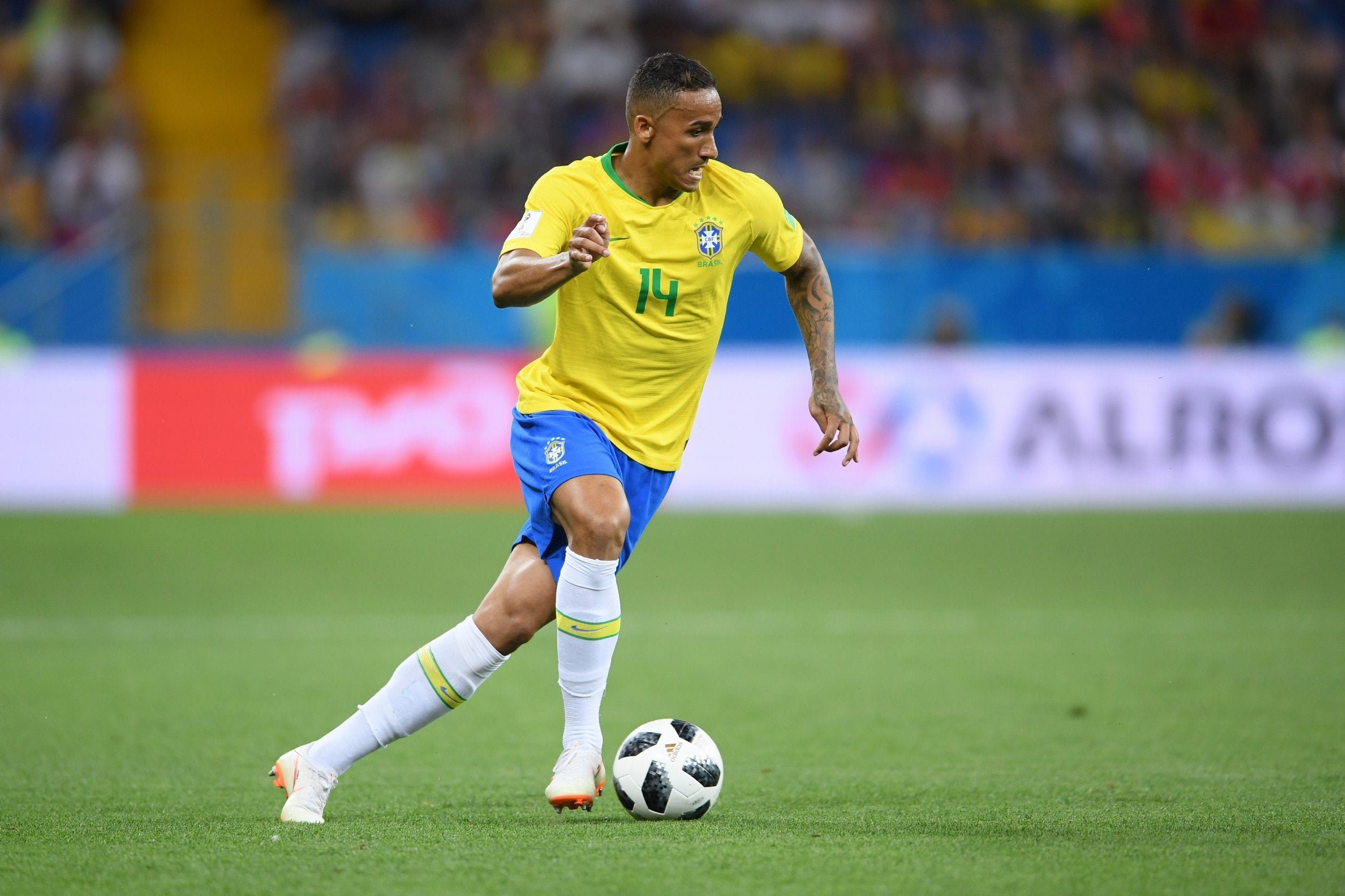 World Cup  Danilo Ruled Out With Injury For Brazils Group E Clash Against Costa Rica The Independent