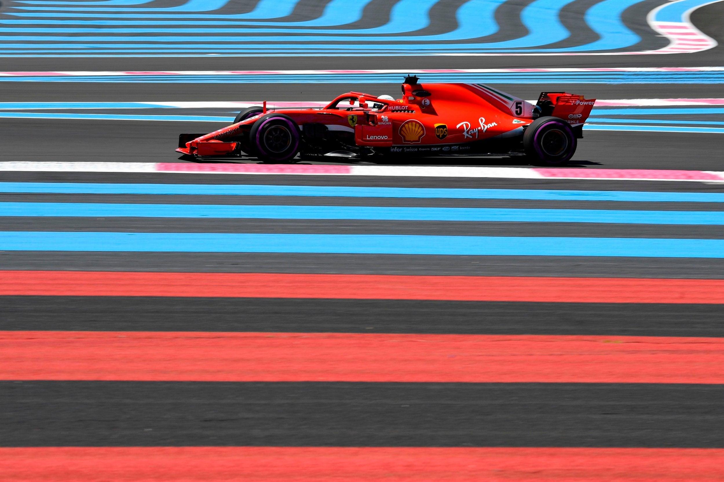 Live F1 stream site hosting French Grand Prix 2018 for free