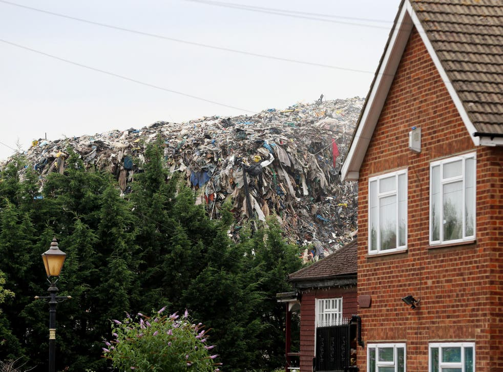 An illegal dump in Kent: despite the clear efforts of some regulators to tackle waste crime, it is more entrenched than ever
