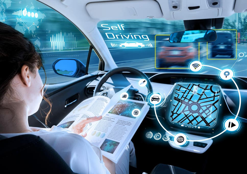 The UK government has promised driverless cars on the road by 2021