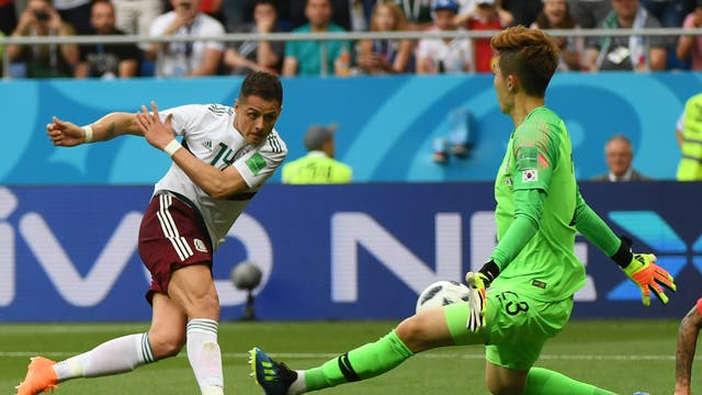 Tried his best to put off Carlos Vela for the penalty but failed. Could have done better against Hernandez' scuffed shot.