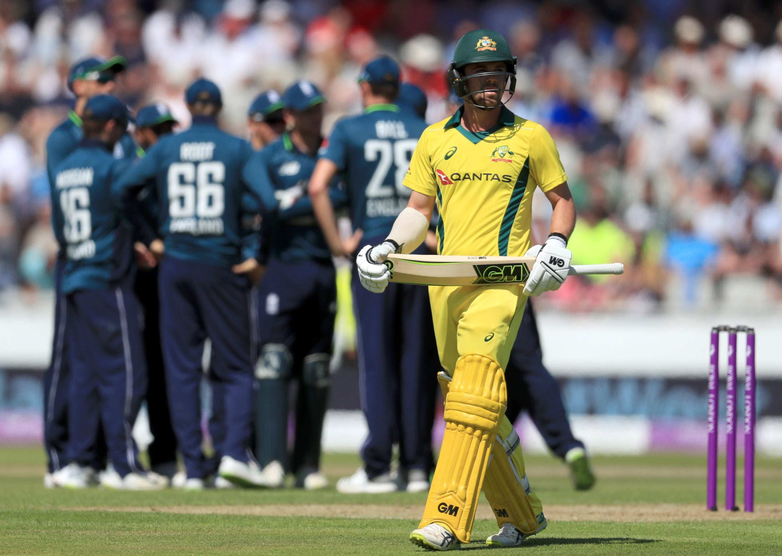 Image result for england vs australia 5th one day 2018