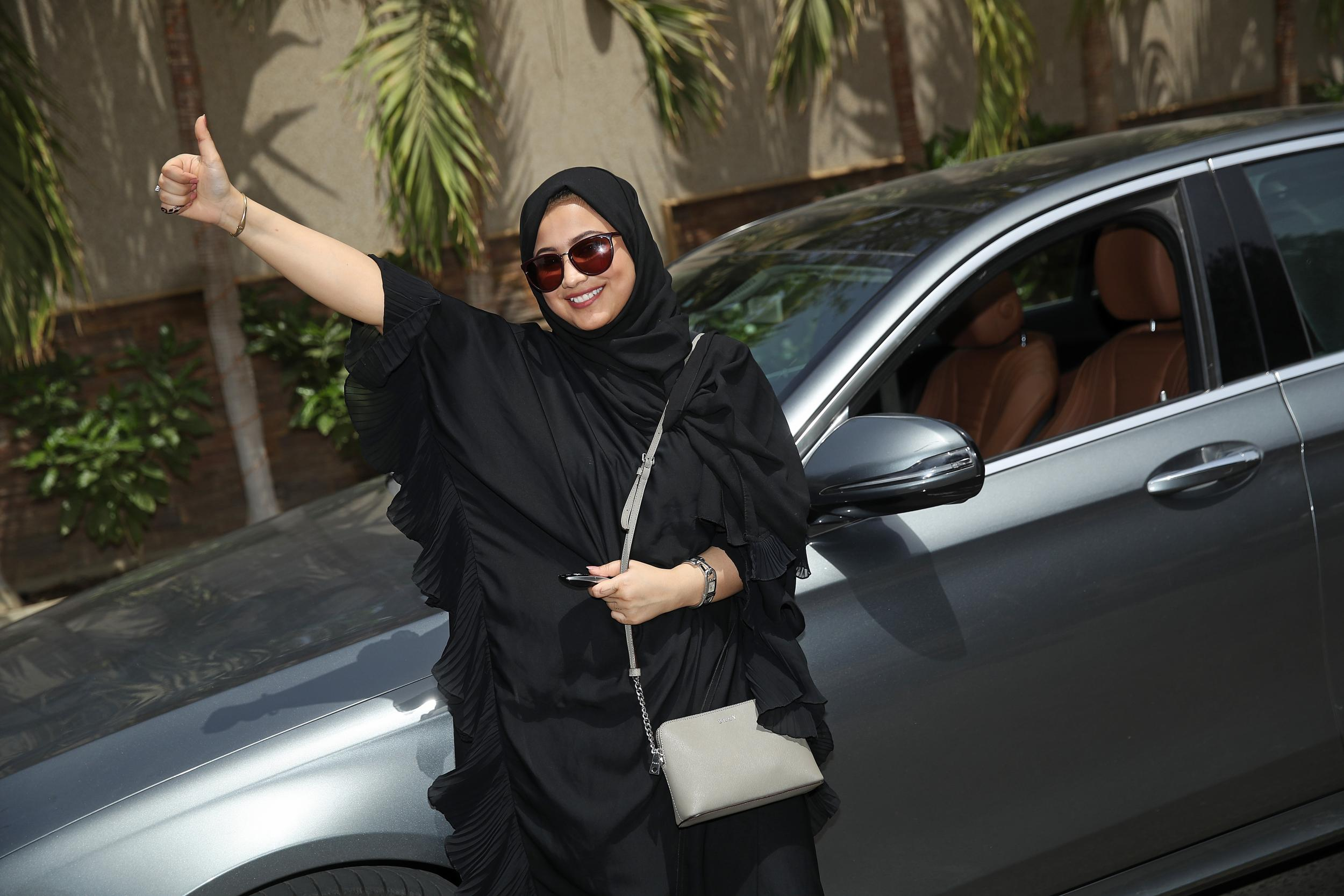 'Everything is an adventure now': Saudi women celebrate new driving freedoms as ban is lifted