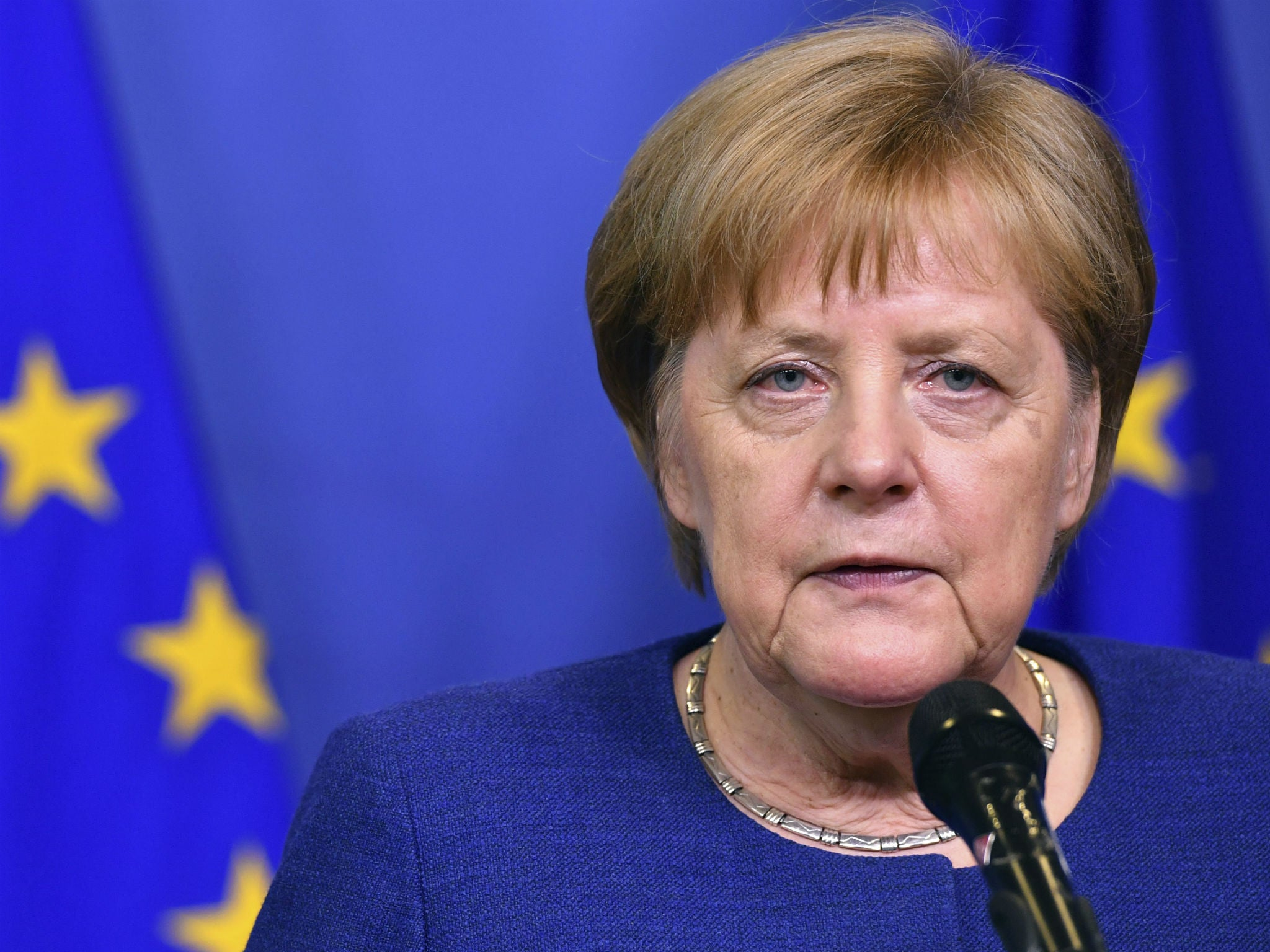 After England's exit from the EU, Merkel saw a real opportunity to take the place of the first 71
