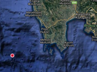 Greece earthquake: 5.5-magnitude quake hits off coast at Methoni