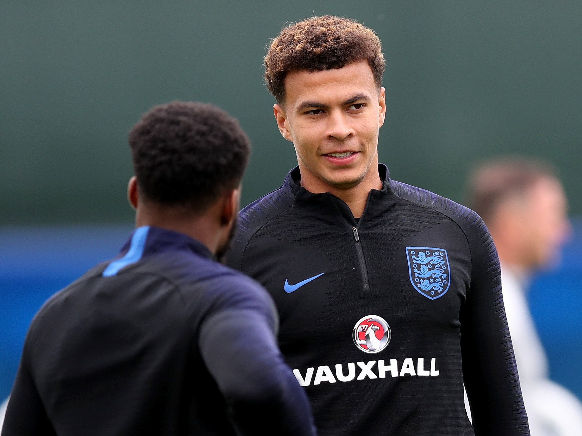 england world cup team news dele alli steps up recovery ahead of