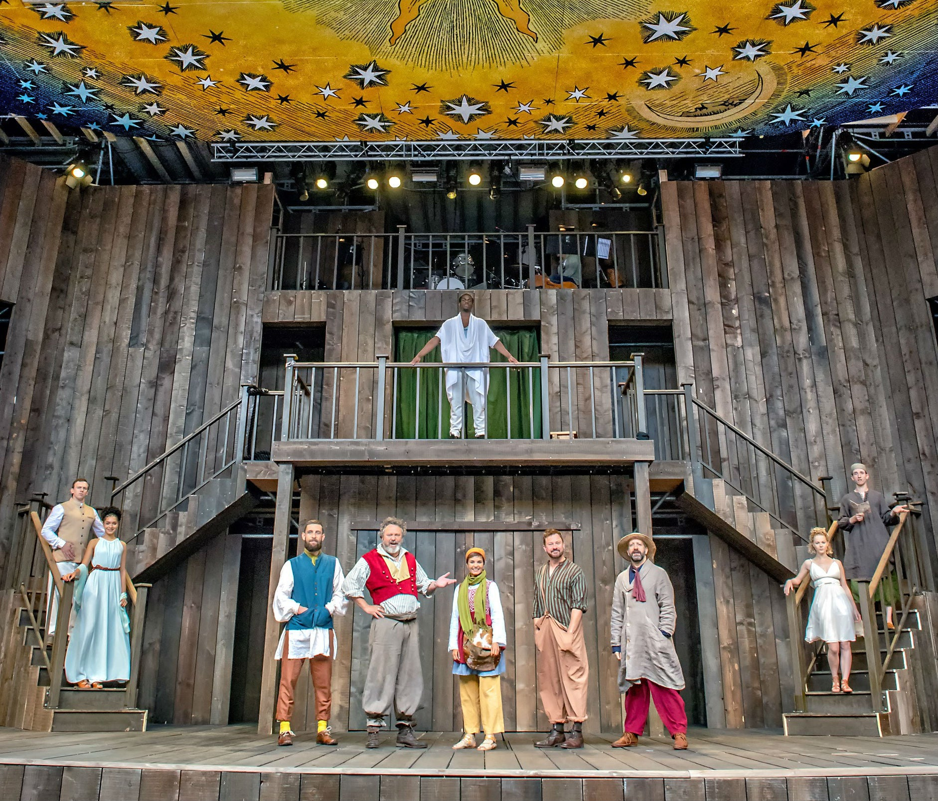 Shakespeare s Rose Roofless Elizabethan pop up theatre opens in