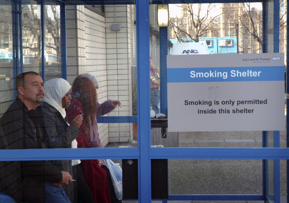 NHS staff smokers cost health service £200m a year with cigarette