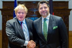 Johnson urged to resign after missing Heathrow vote for Afghan trip
